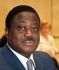 Henri Kona Bedié President de la république de Côte d'Ivoire (1993-1999)
