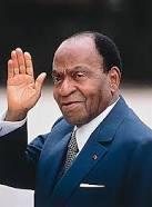 Felix Houphouet Boigny Premier president de la Côte d'Ivoire