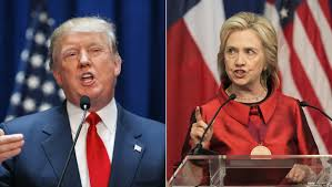 Donald Trump et Hilary Clinton